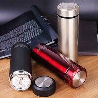 Creative Thermos Cup Glass Liner Thermos Mug Garrafa Termica Coffee Cup Stainless Steel Vacuum Flask Mug