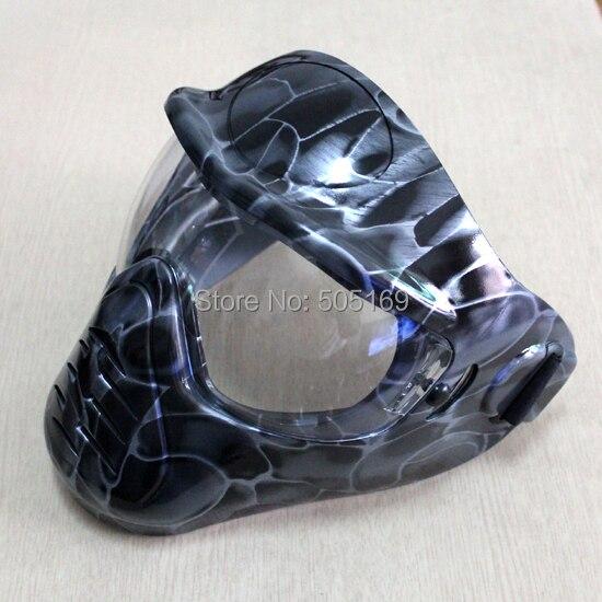 Sauver Phace noir Mamba Phat série Airsoft Paintball Anti-buée lentille masque/lunettes nouveau