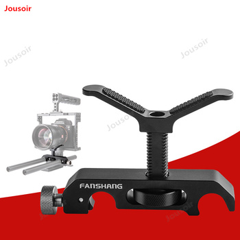 FT-21 photography dedicated telephoto lens bracket 15mm double-hole tube clamp lens support frame CD50 T03