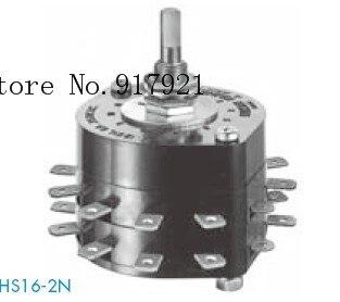 [ZOB] japon nkk jour pour démarrer une entreprise grand commutateur rotatif courant 12 ampères HS16-2 HS16-4 HS16-6-5 pièces/lot