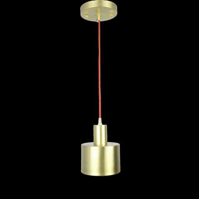 All brass single head hanging light fixture Nordic minimalist ...