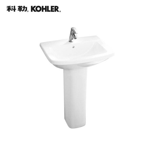€ 1724 99  Kohler sanitary ware ceramic pedestal basin Panache Panache  pillar washbasin K 17654T 0 en Protector de pecho de béisbol de Deportes y