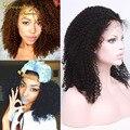 Фронта шнурка человеческих волос парики индийский реми волос девы full lace парики человеческих волос кудрявый вьющиеся парик фронта шнурка человеческих волос кружева парик