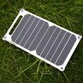 5 v 10 w panel de energía solar de carga del cargador portable del panel solar diy solar power panel usb para el teléfono iphone samsung