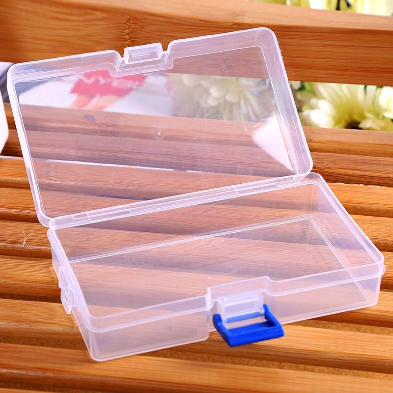 naujas stačiakampio formos skaidrus plastikinis laikymo dėžės - Organizavimas ir saugojimas namuose - Nuotrauka 2
