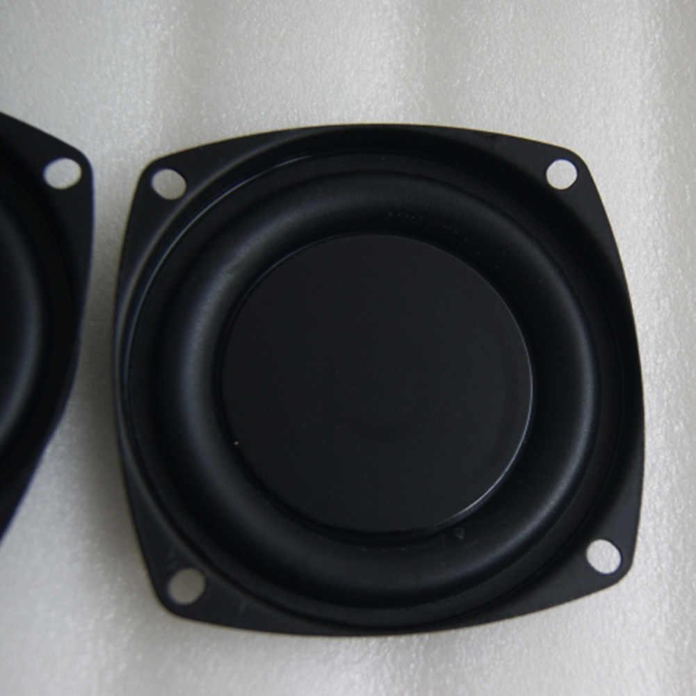 振動パッシブプレートホーム低音スピーカ振動板旅行 3 インチ偽トランペット耐久性のあるウーファー膜軽量