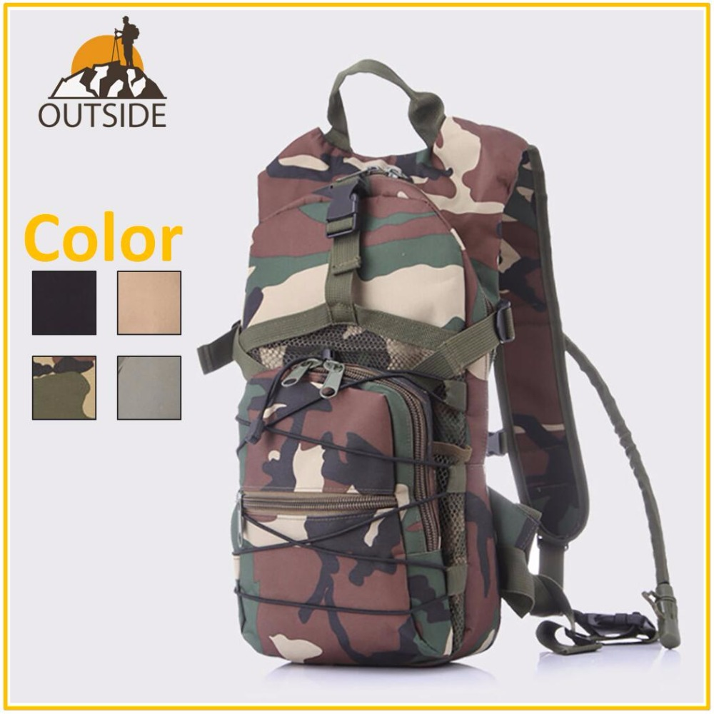 Hydration camelback Bicycle Camping Hiking Hunt Rucksack Outdoor Sport Bike Backpack With 2.5L TPU Camping Hiking water Bag