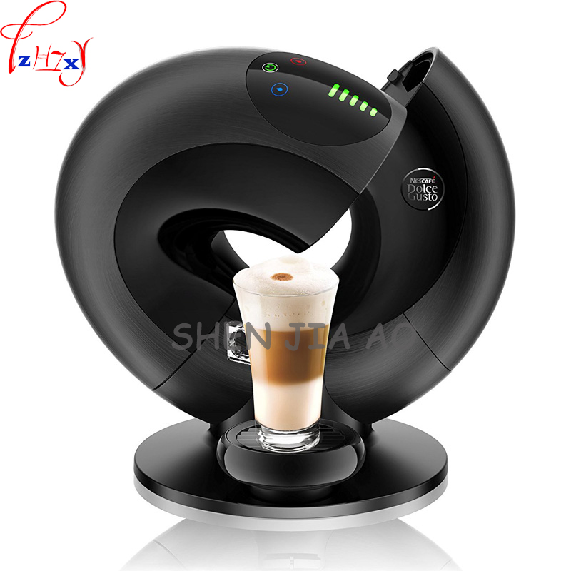 Home automatic capsule coffee machine EDG736 intelligent touch capsule coffee machine Italian espresso machine 220V 1500W 1 pc 220v en550 home automatic capsule coffee machine 19bar intelligent touch screen control capsule coffee machine