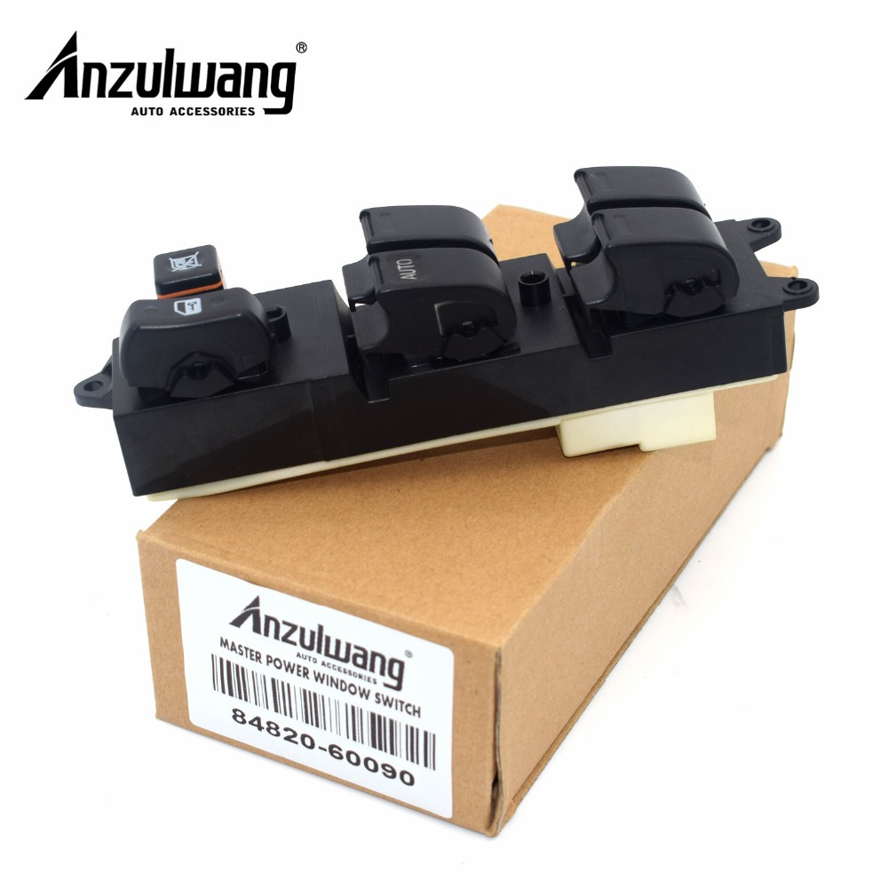 Power Window Lifter Master Control Switch For <font><b>Toyota</b></font> Echo Yaris T.U.V <font><b>4Runner</b></font> Hilux Land Cruiser Camry 84820-60090 8482060090 image