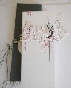 Image 2 - 貯金箱金属切削ダイスカットは葉支店装飾スクラップブック紙クラフトナイフ金型ブレードパンチステンシル金型