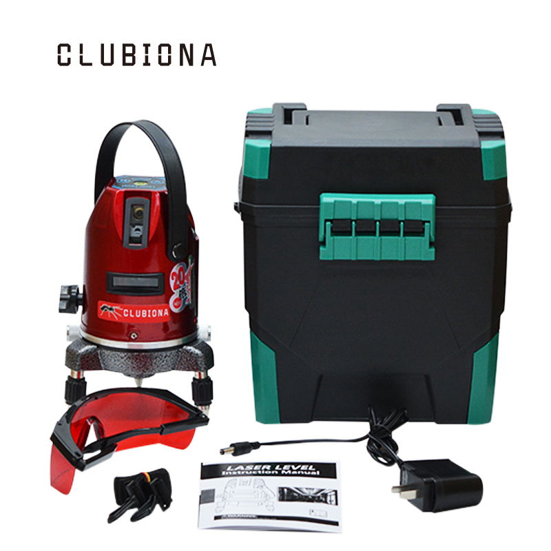 20 times brightness 3 lines (2V, 1H) Indoor and outdoor 360 degree rotary slash function self-leveling laser level tool murakami h 1q84 books 1 2 and 3