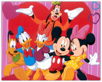 Diamond Art 5D Diamond Painting Cartoon Diamond Embroidery Mickey Mouse Square Diamond Stick Drill Crafts Diamond