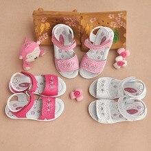 Новинка; 1 пара ортопедических сандалий из натуральной кожи; детская обувь для девочек; высококачественные детские сандалии с цветочным узором для девочек