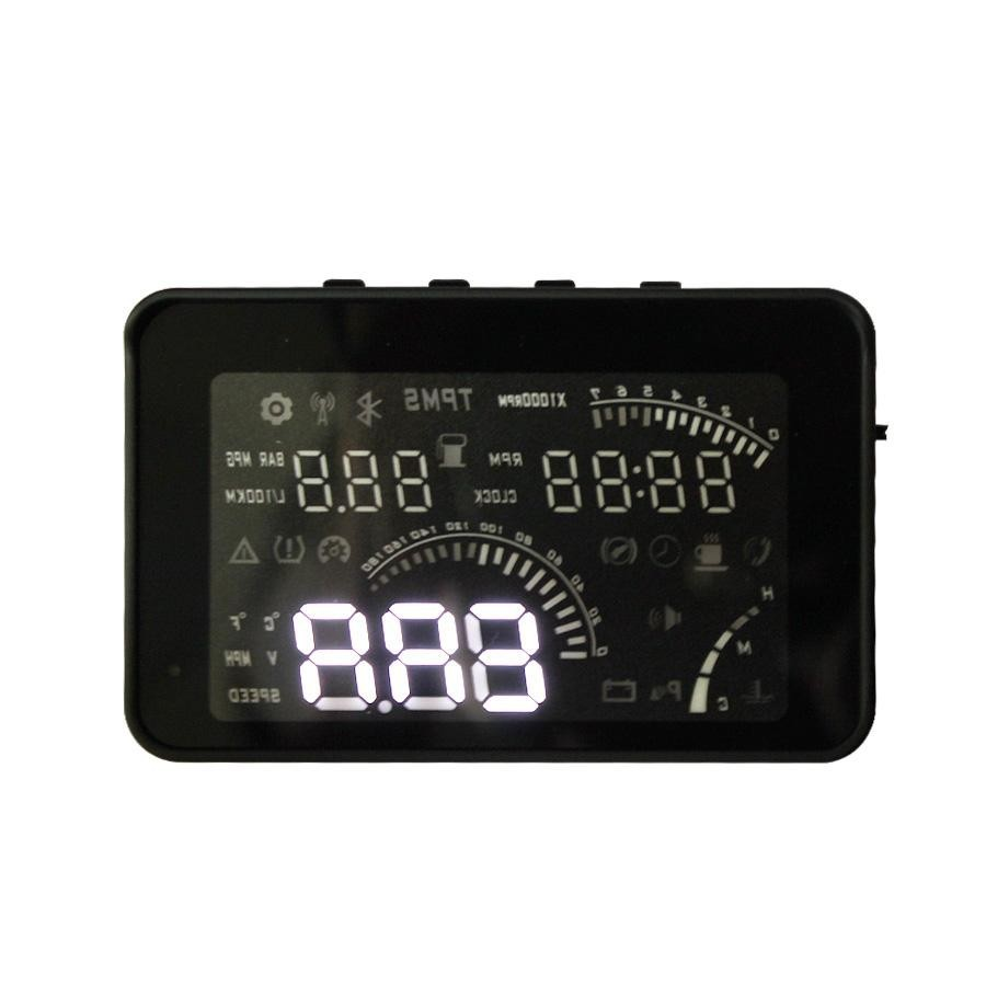 W03 HUD 4  Smart Voice HEAD UP DISPLAY With OBD2 Interface KM/h & MPH Speeding Warning W03 (with OBD line) Host Machine of HUD motor speed controller regulator programable reversible pwm motor speed controller dc10 50v 100a 3000w