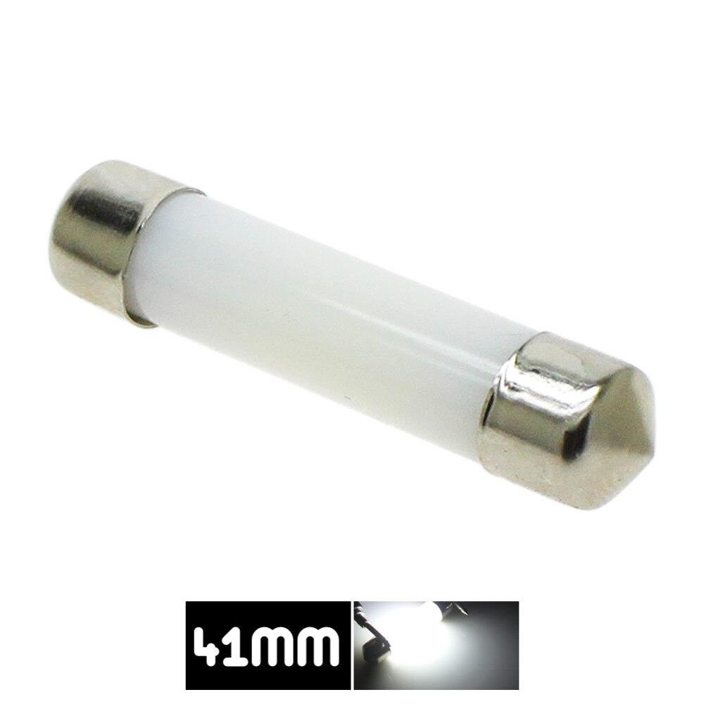 41 مللي متر LED سيارة قبة فسطون أضواء بيضاء لمبة تيار مستمر 12 فولت 212-2 214-2 211 6413 578 لوحة ترخيص فيليفورم نمط COB LED مصباح
