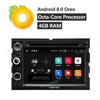 GA9173A 7 Штатная Android8.0 Octa Core автомобильный DVD gps плеер Разделение Экран для Ford F150 2005 2008 навигации Bluetooth 4 г USB SD