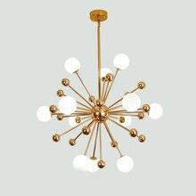 Художественный креативный мыльный пузырь прозрачный стеклянный шар светодиодный подвесной светильник для гостиной спальни столовой дизайнерские светильники Бесплатная доставка