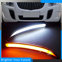 Car White Yellow LED Daytime Running Light Drive Lamp For Buick Regal GS 2010 2011 2012