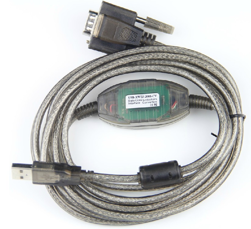 цена на USB-XW2Z-200S-CV Programming Cable Imported FT232RL chip for PLC, Support WIN7 WIN8 32 64