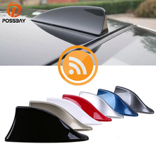 цена на SD Gray / Blue / Gold / Silver / Black / Red / White Car SUV Truck Shark Fin Antenna Radio Signal Aerial Fit BMW Camry Accord