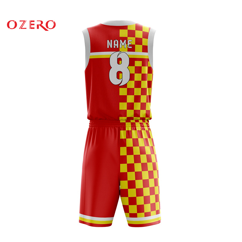 Blank Blue And Yellow Basketball Jersey Pictures Template Pattern