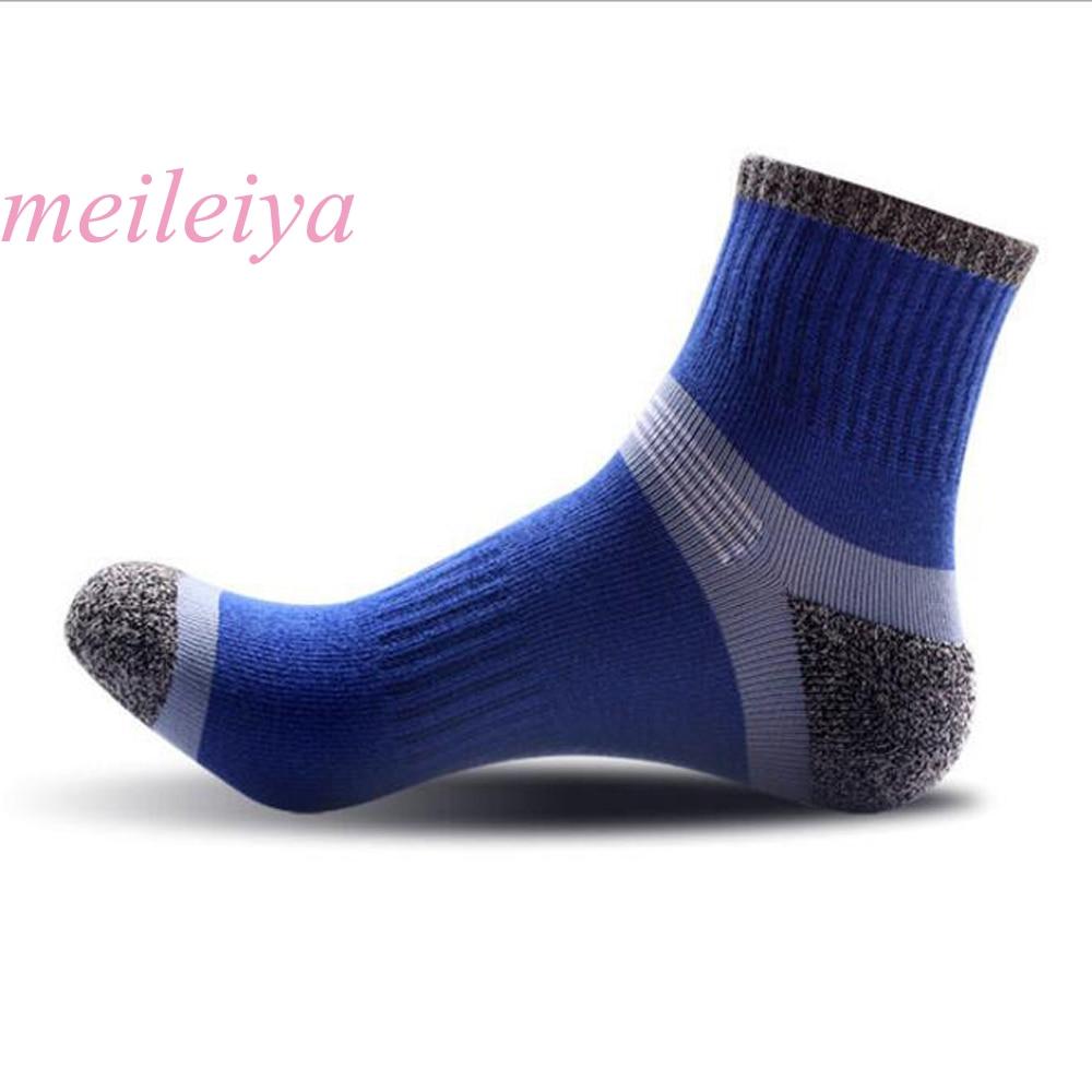 MEILEIYA 12 Pairs / Bag High Quality Cotton Socks Fashion Mens Cotton Socks Stitching Color Mens Socks 3 Styles High-End Socks