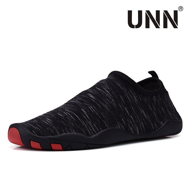 Nueva llegada unisex calcetines Descalzo los zapatos playa nadar Surf negro Talla:41 VvJw2tv
