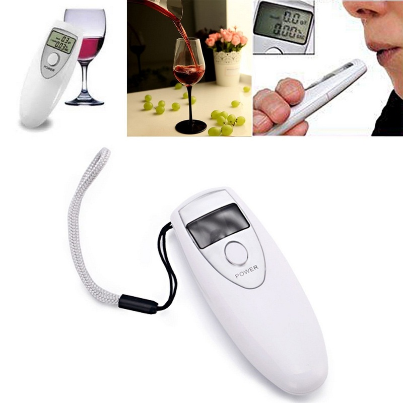 Image 3 - Portable Professional Alcohol Tester Closed Automatically Digital Breath Alcohol Detector Screen Show Alcohol Concentration-in Alcohol Tester from Automobiles & Motorcycles