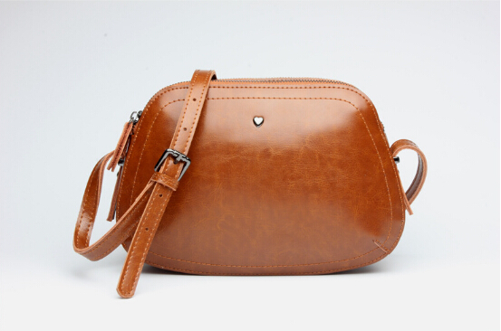 Fashion newest design genuine leather women's popular handbag vintage small shoulder bag simple female messenger bag g-895683 popular sale genuine leather female casual fashion quilted handbag