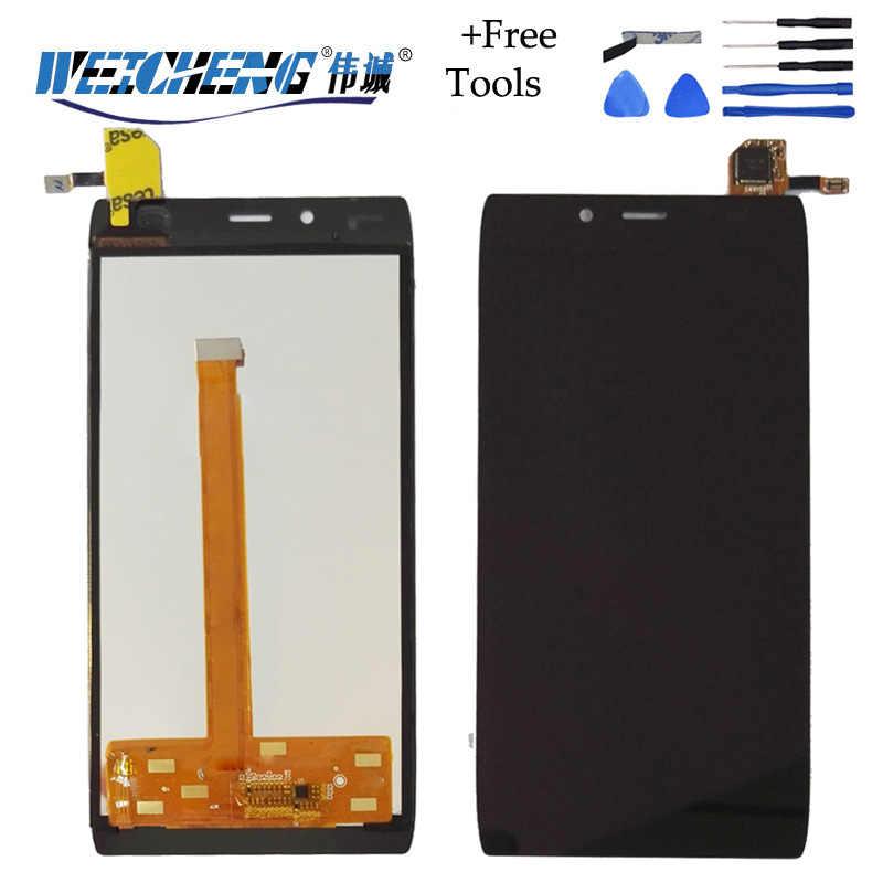 Для Alcatel One Touch Idol Alpha 6032 OT6032 6032X 6032a ЖК дисплей + дигитайзер сенсорный экран Сменные