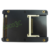 2 CF To 44pin IDE HDD Adapter Card With Case 2 5 IDE To Dual CF