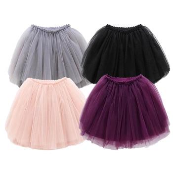 b062658a1dfc8 Bebek Kız TuTu Etek Kabarık çocuk topu Cüppe Pettiskirts 12 Renkler Tutu  Etek Toddler Kız Prenses Dans Parti Etek 12M-10Y