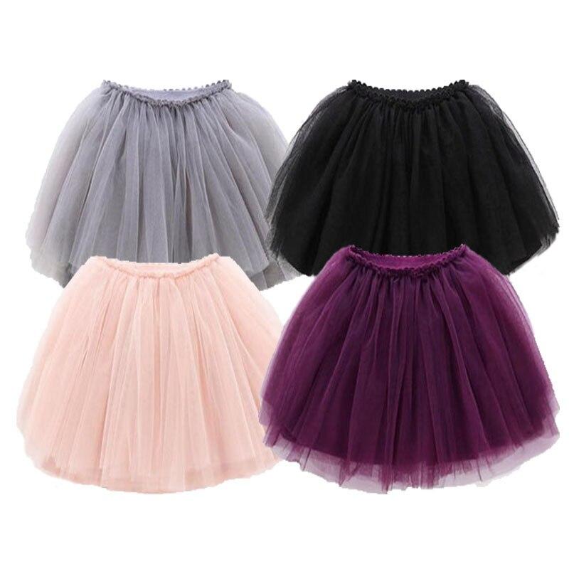 Meninas do bebê tutu saias fofo crianças vestido de baile pettiskirts 12 cores tutu saia da criança menina princesa dança festa saia 12m-10y