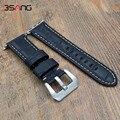 ¡ Entrega rápida! 38mm 42mm pulsera brazalete de cuero genuino reloj de correa de la banda transportadora con conector para iwatch apple watch