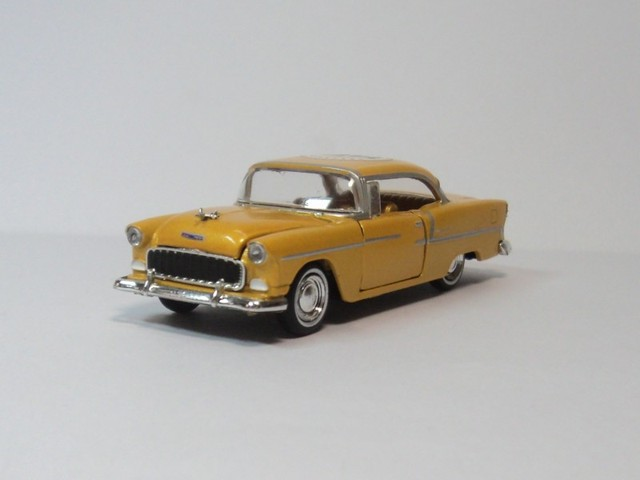 Chevrolet BEL-AIR M2 1:64 1955 car model Chevrolet
