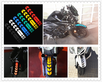 Motorcycle shape reflective sticker wheel fender decal decoration for BMW K1600 GT GTL R1200GS R1200GS ADVENTURE R1200R image