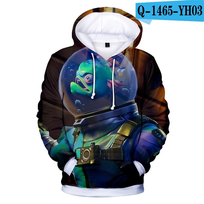 Fortnit Battle Royale Hoodie Sweatshirt Boys Sweatshirt Pullover Streetwear 3D Print Women Clothing Kid Clothes Game Clothes