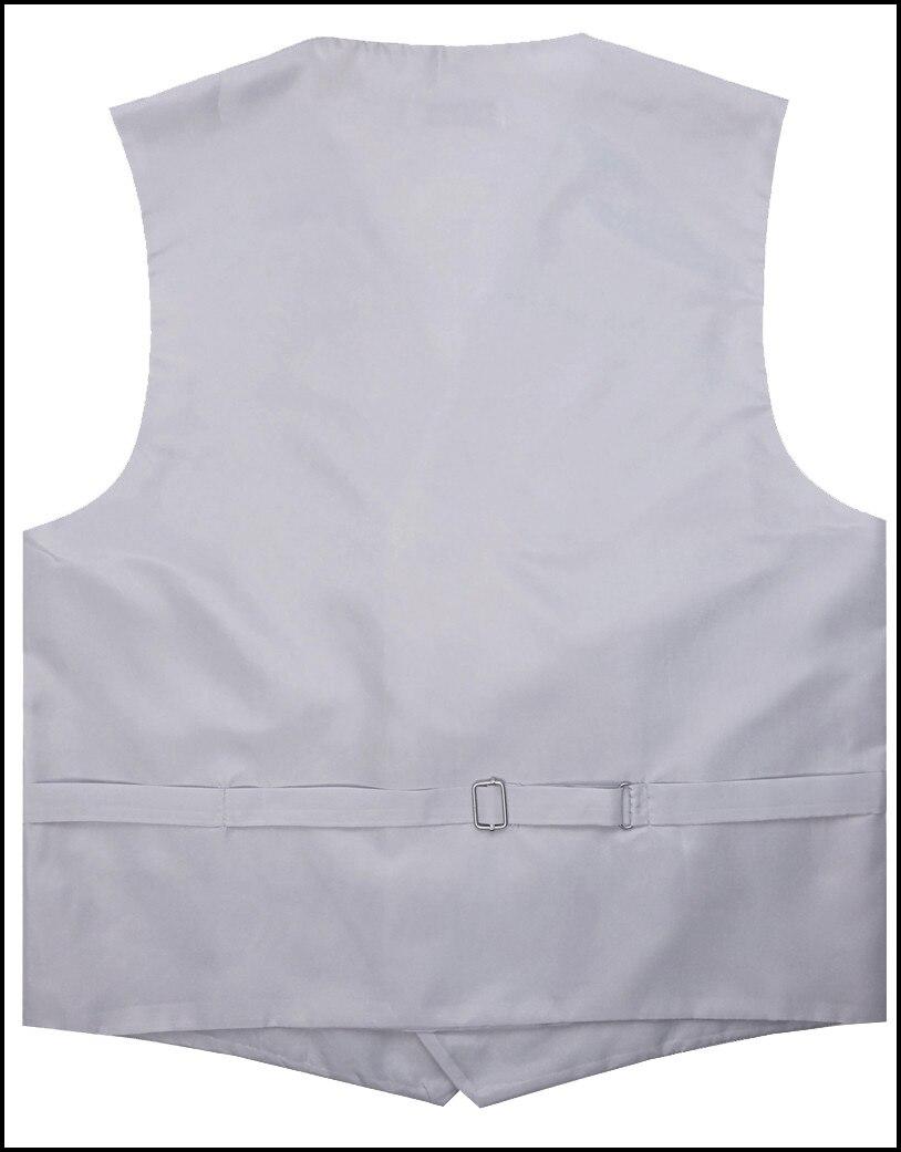 ₩Venta caliente del envío libre del mens traje de plata tejido ...