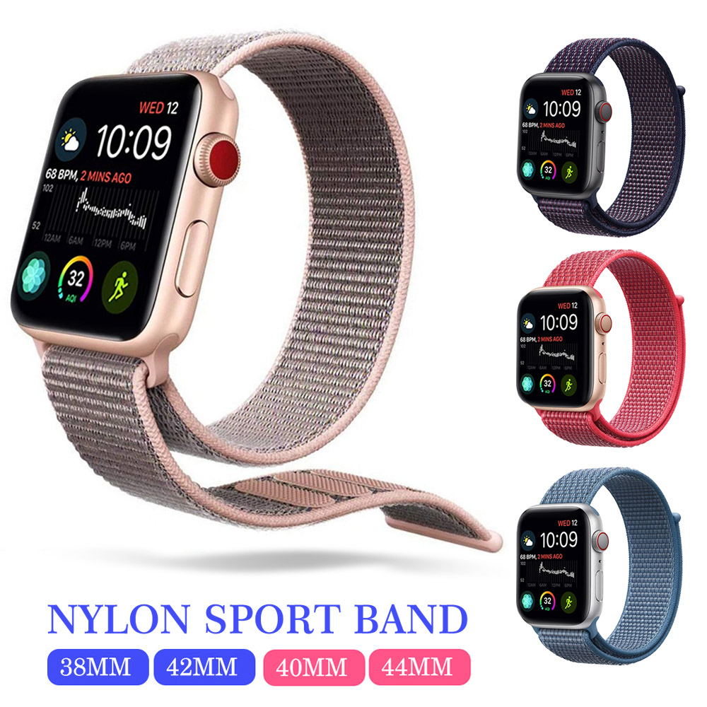 38mm 42mm band for apple watch series 1 2 3 woven nylon band strap for iWatch colorful pattern classic buckle38mm 42mm band for apple watch series 1 2 3 woven nylon band strap for iWatch colorful pattern classic buckle