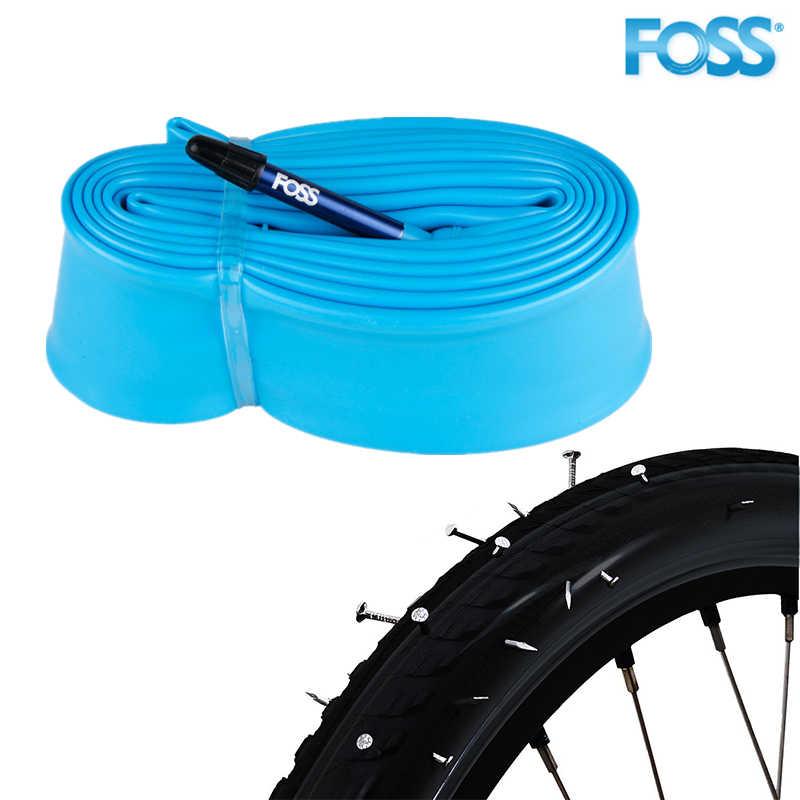 FOSS Fiets Buis Bike Inner Tyre 16/18/20/24/26/27.5/29/ 700/650B Schrader/Presta Optioneel Bike Tire Banden Fietsen Prik Tire