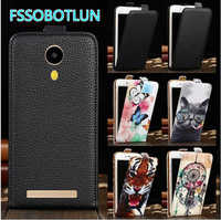 FSSOBOTLUN For VKworld F7 Case Quality Cartoon Painting Pu Leather vertical phone bag flip up and down PU Leather Cover