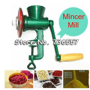 1pc/lot Chili Soybean Grain Rice Mill Wheat Corn Flour Hand Crank Oats Flour Mill grinding miller Pulverizer 3# Free Shipping