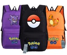 Pokemon Aller Sac À Dos Pikachu Gengar Squirtle Moltres Charmander École Sac 45x32x13 cm