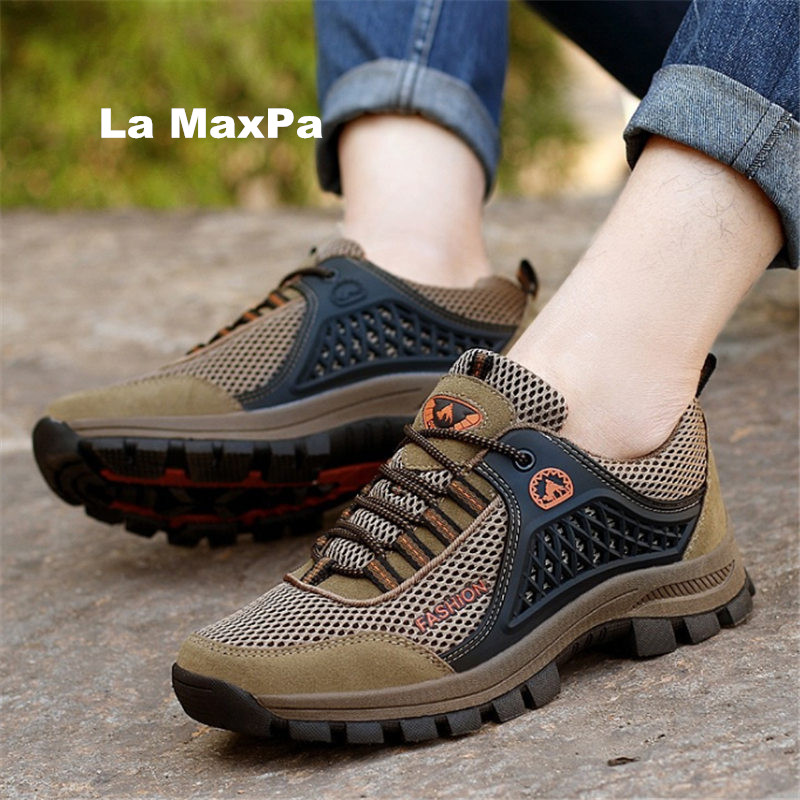 2018 new Men Sneakers hiking shoes women outdoor Sport Shoes camping Trainers jogging shoes men arena Atheletic chaussures femme