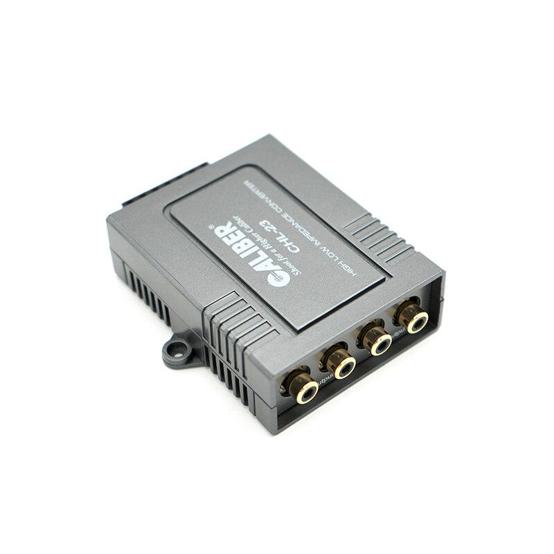 High low Converter ISO adaptador altavoces en cinch converti regulador