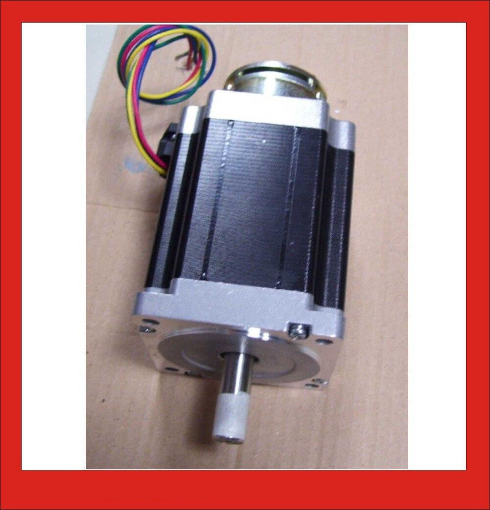 24VDC 4N NEMA34 Brake Stepper Motor Off-power Brake Stepper Nema 34 150mm Body Length 2953s 95 4n
