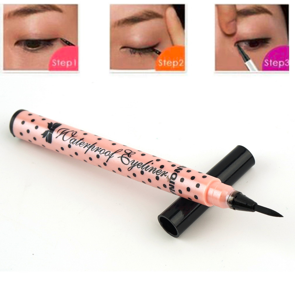 High Quality Black New Cosmetics Makeup Not Dizzy Waterproof Liquid Eyeliner Pencil Maquiagem eye liner