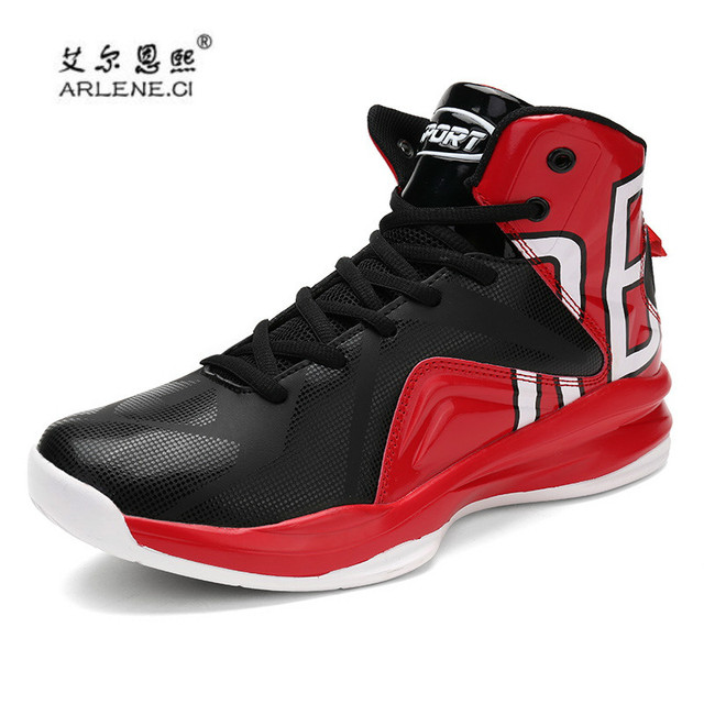 be41d92b22 Zapatos deportivos para Hombre 2018 nueva marca Zapatillas de baloncesto  para Hombre Zapatillas de tobillo botas