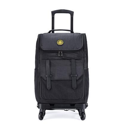 กระเป๋าเดินทางกันน้ำกระเป๋า Rolling กระเป๋าเดินทางรถเข็นกระเป๋าเดินทางกระเป๋าเดินทางผู้หญิงกระเป๋าเป้สะพายหลังล้อชาย Rolling กระเป๋าเป้สะพายหลังล้อ-ใน กระเป๋าเดินทาง จาก สัมภาระและกระเป๋า บน   1