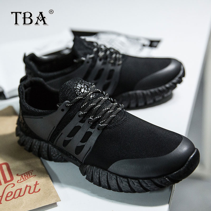 TBA 2017 Free Shipping Men Sports Shoes Lightweight Winter Sneakers Non-slip Outdoor Athletic Trainers Running Shoes